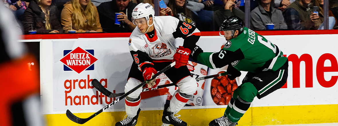 Stars Fall to Griffins in 6-4 Heartbreaker