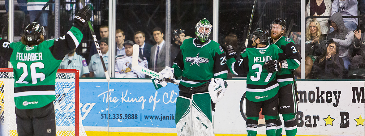 Stars Net Four Unanswered Goals to Top Griffins