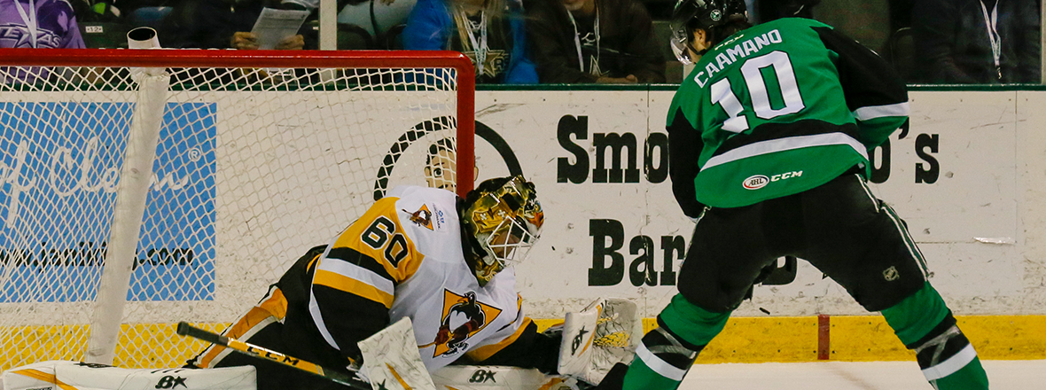 Stars Top Penguins 4-3 in Shootout Thriller