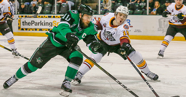 Stars Early Lead Ripped Away in 2-1 Overtime Loss Thumbnail