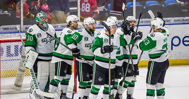 Stars Finish Road Trip with Solid Win in Rockford