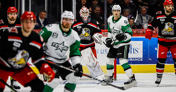 Stars Rally for Point, Fall in Shootout to Grand Rapids Thumbnail