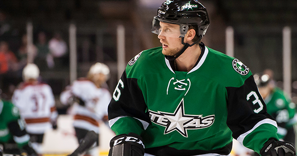 Dallas Stars Assign Nyberg to Texas