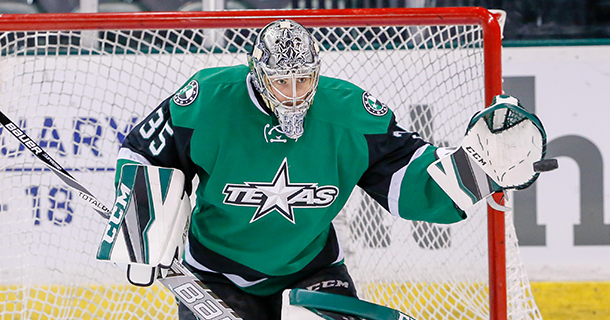 Dallas Sends Pair of Goaltenders to Texas