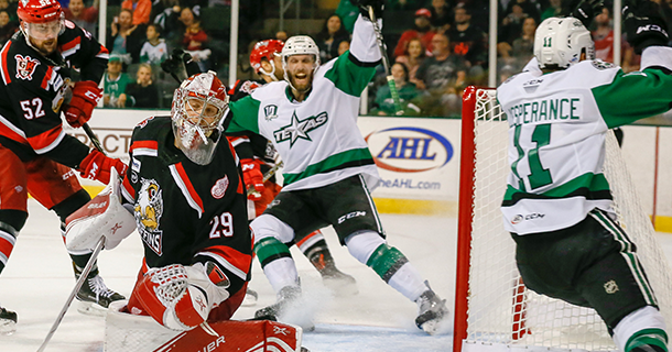STARS OPEN 10th SEASON WITH 3-1 WIN