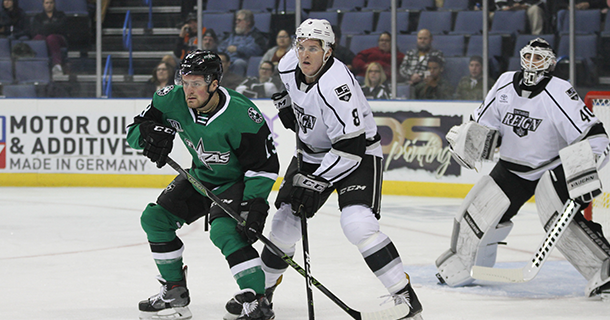 Stars Three-Goal First Period Not Enough in Ontario