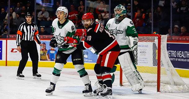 Stars Come Up Short in Grand Rapids Thumbnail
