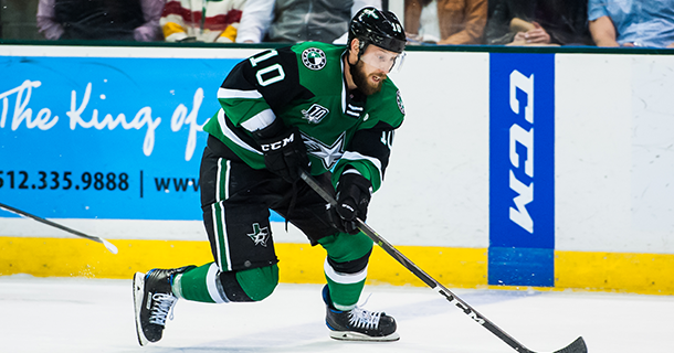 Dallas Stars Sign Center Justin Dowling to Two-Year Contract Extension