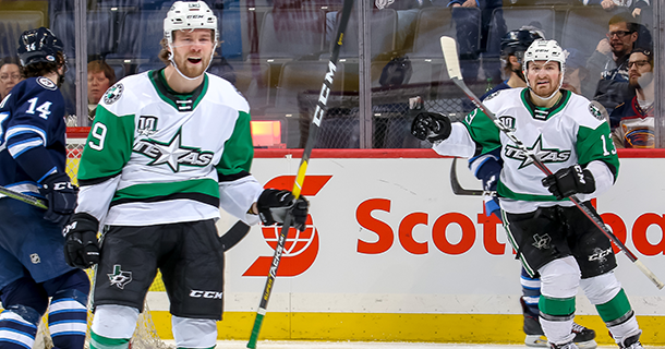 Stars Overcome Moose Comeback with 5-4 Overtime Win Thumbnail