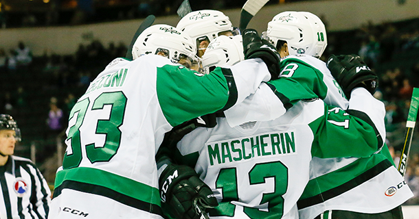 Texas Stars Home Opener Schedule for Friday, February 12 THUMB
