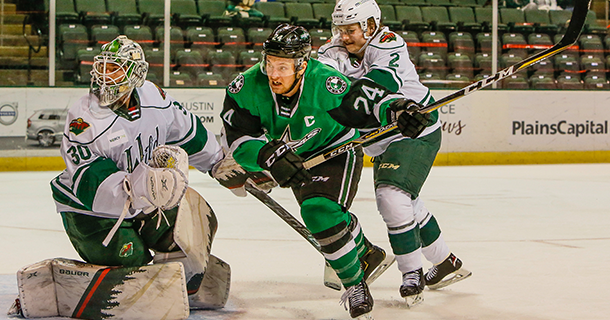 Stars Fall 5-3 to Wild in Back and Forth Affair thumbnail